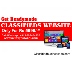 Readymade Classified Website in India Just Rs 5999/-